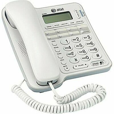ATT Landline Phone Caller ID Speakerphone For Seniors Large