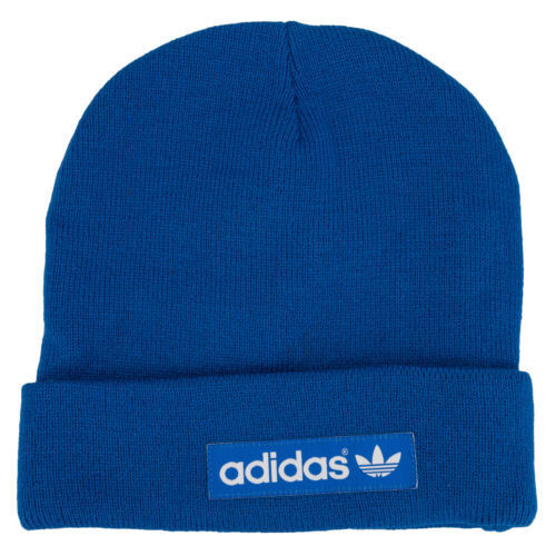 blue Adults Adidas  Beanie Mens Womens hats warm winter free postage.on sale