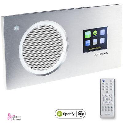 Grundig Cosmopolit 8 WEB DAB+ Alu Internet-Radio Farbdisplay Spotify Tisch Radio