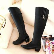 Plus Size Thigh High Boots