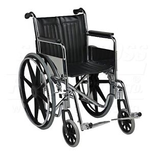 """Wheel Chair brand new in box 18"""" seat holds 275lbs"""