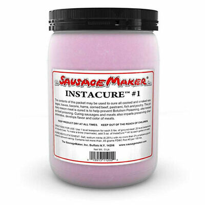 Sausage Maker 5 Lbs. Insta Cure No 1 Prague Powder 1 Model 11-1013