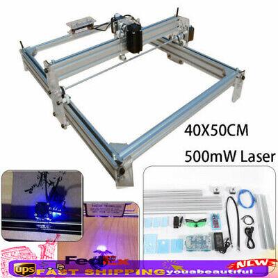 Mini Laser Cnc Router Engraver Machine Desktop Milling Wood Cutter Printer 500mw