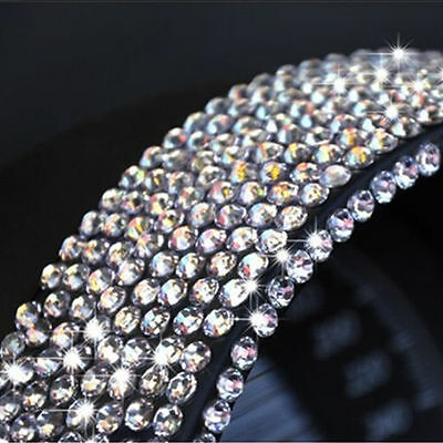 750 2MM SELF ADHESIVE STICK ON DIAMONTE CLEAR GEMS CRYSTAL RHINESTONE DIAMANTES