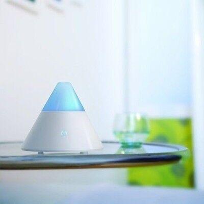 ZAQ Noor White Air Aromatherapy Essential Oil Diffuser - 80m
