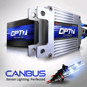 OPT7 H11, H9, H8 8000K BOLTZEN CANBUS 35W HID KIT *NEW*