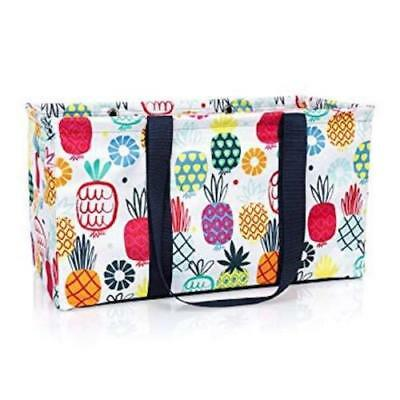 NEW Thirty One LARGE UTILITY tote laundry storage Bag 31 gift in Lotta Colada