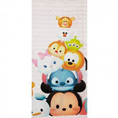 Disney Party Decorations (TSUM TSUM PLASTIC TABLE COVER ~ Birthday Party Supplies Decorations Cloth)