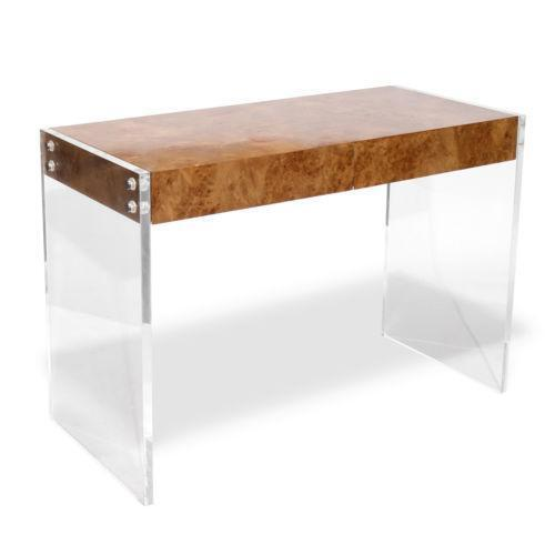Lucite desk ebay for Perspex furniture