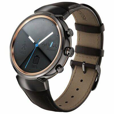 Asus ZenWatch 3 WI503Q-GL-BN-BB Smart  watch Stainless Steel Gunmetal Leather comprar usado  Enviando para Brazil