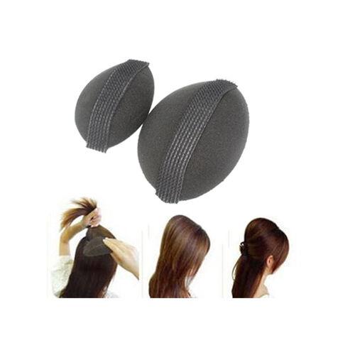 2 x Bump It Up Volume Hair Base Styling Insert Tool Piece Volumiser Big + Small