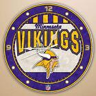 Minnesota Vikings NFL Clocks