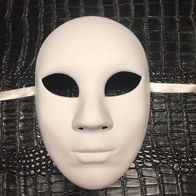 Ganz in Weiß Damen Zum Selbermachen Masquerade Mask Kostüm Party Blank Maske