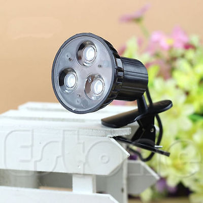 Flexible Super Bright 3 LED Clip On Spot USB Light Lamp For Laptop PC Notebook
