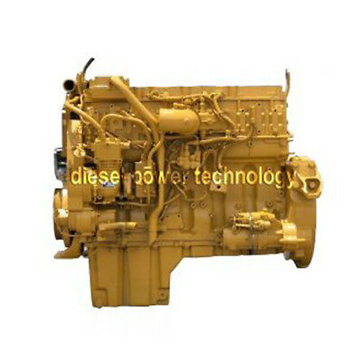 Caterpillar C13 Remanufactured Diesel Engine Extended Long Block Or 78 Engine