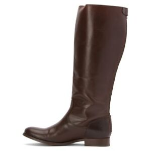 Back Zip Knee-High Women's Leather Boots