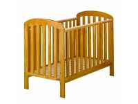 East Coast Anna Dropside Cot, Antique Pine - New and Boxed