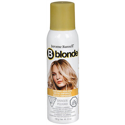 Jerome Russell B Blonde Temporary Highlight Spray 3.5 oz (Choose from 3 colors)