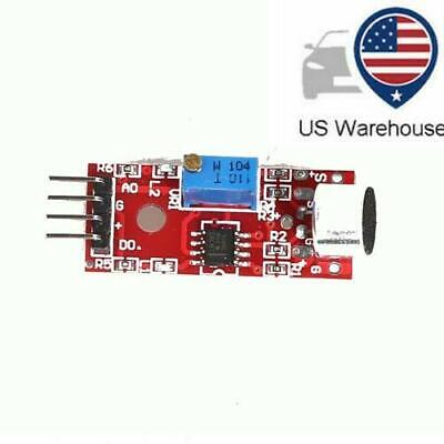 US Microphone Sensor AVR PIC High Sensitivity Sound Detection Module For Arduino