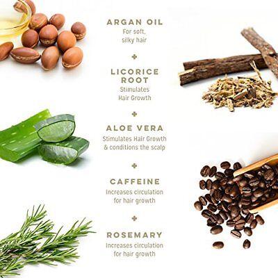 Calily Life Organic Caffeine Hair Growth and Anti Hair Loss