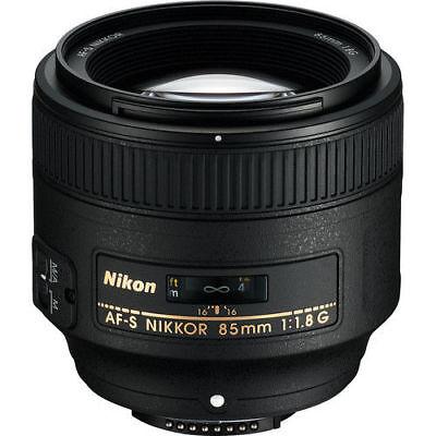 Nikon AF-S NIKKOR 85mm f/1.8G Lens for Nikon DSLR Cameras 2201