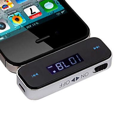 3 5mm Jack Audio Fm Transmitter W Display For Samsung Galaxy Note 5 S6 S7 Edge Ebay