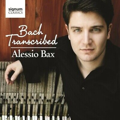 Alessio Bax - Bach Transcribed [New CD]