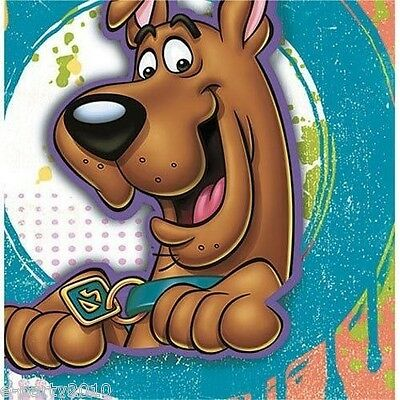 Paint Splatter Party Supplies (SCOOBY DOO Paint Splatter LUNCH NAPKINS (16) ~ Birthday Party Supplies)