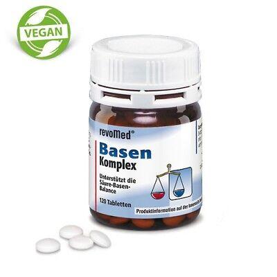 120 vegane Basen Komplex Tabletten (1 Dose) von Revomed