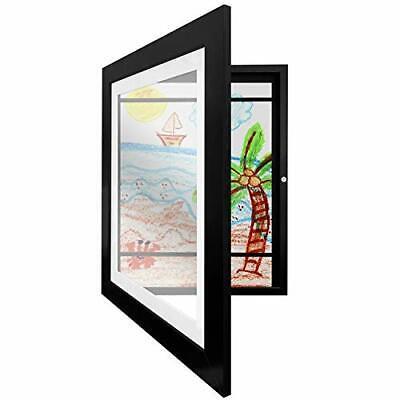 Children Kids Artwork Frame Display Black 8.5×11 10×12.5 Frames