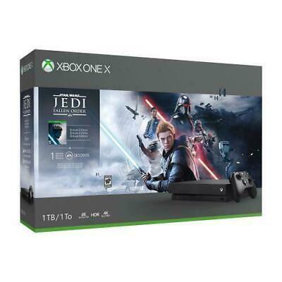 Microsoft Xbox One X 1TB Star Wars Jedi: Fallen Order Bundle