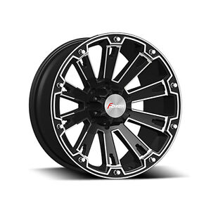 """20"""" Forza Blk or blk & mach rims for Dodge 1500 ONLY $799 set"""