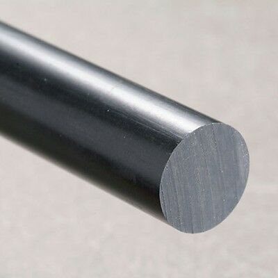 Ext Rod (NYLON 66 Rod BLACK Round Bar Diameter Engineering Plastics Ertalon 6.6 Bar ext)