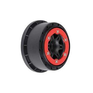 Pro-Line 2715-04 Split Six 2.2/3.0 Bead Lock Rims SC (Red Bead) (New in Package)