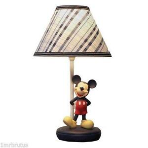 Mickey mouse lamp ebay mickey mouse lamp shade mozeypictures Image collections