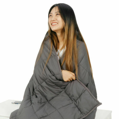 Queen/Full SIze 72 x 48″ / 80 x 60″ Promoted Deep Sleep Weighted Blanket Bedding