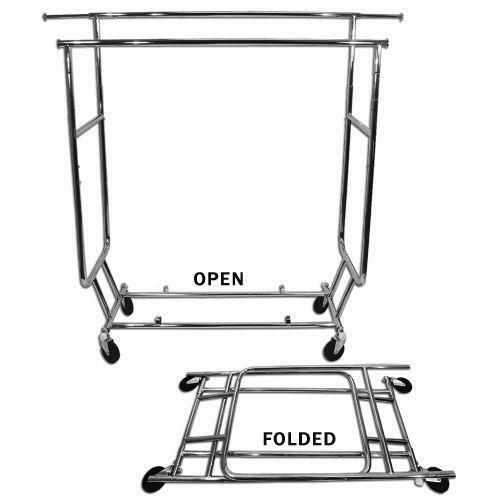 Folding Clothes Rack Ebay
