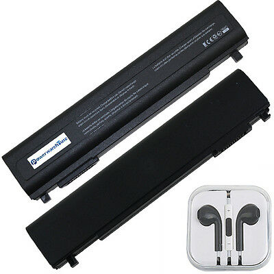 Powerwarehouse Toshiba PA5162U-1BRS Laptop Battery - 6 Cell Free Earphones