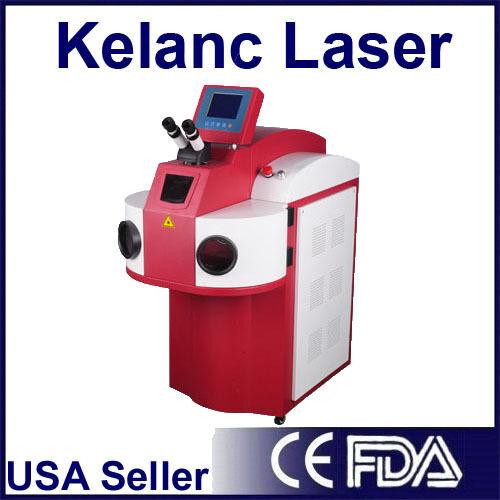 FDA 200 Watt Yag Laser welder commonly used in Jewelry and Dental welding