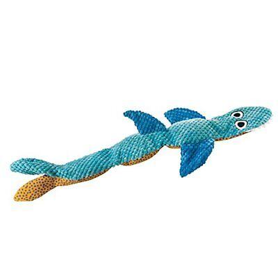 Petstages 647 Stuffing Free Floppy Shark Dog Squeak Toy