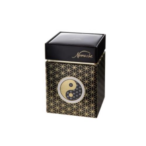 Goebel Om Grün Schlüsselanhänger Lotus Yin Yang Bunt Metall-Kombi 23500331