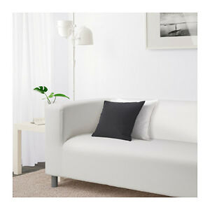IKEA White Loveseat Sofa