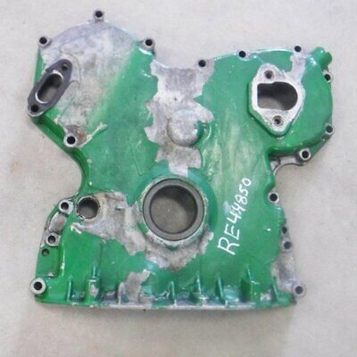 Used Timing Gear Cover John Deere 7400 7600 7200 6059 6068 Re44850