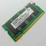 512MB DDR PC2700 SODIMM