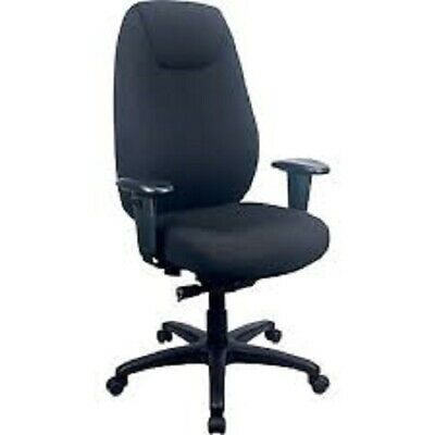 Tempur-pedic Tp6400 Office Chair Fabric Computer And Desk Chair Black Tp6400