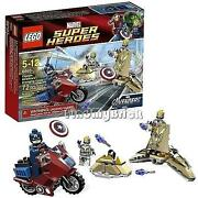 Lego Captain America Avenging Cycle