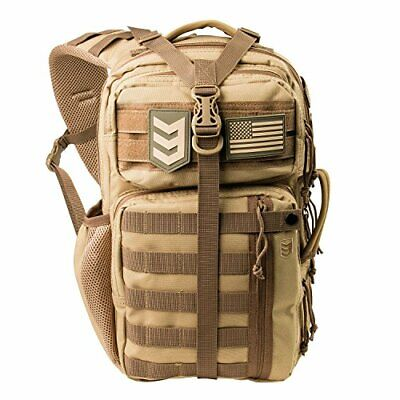 Heavy Duty MOLLE Compatible Tactical Sling Pack - Over the Shoulder Day Bag