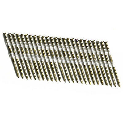 Duo-fast Sl15 3 X .120 Screw Full Round Head Strip Nails Pack Of 2500