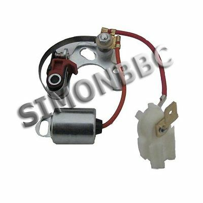 Points and condensor for all vehicles fitted with Lucas 25D 23D Morris Mini etc