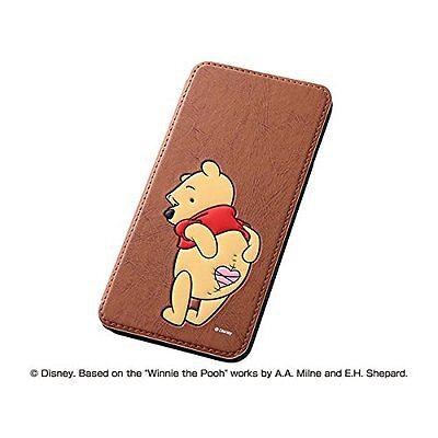 iPhone6 Plus Book Type Leather Case Disney Cartoons Pooh RT-DP8J / PO